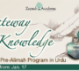 ZAO: Gateway to Knowledge | Pre-Alimah Program | Urdu